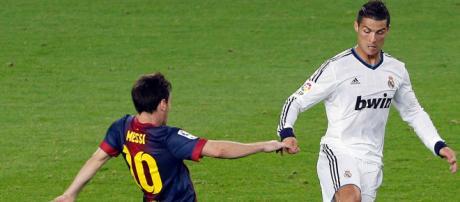 Cristiano Ronaldo continua rivalizando com Messi