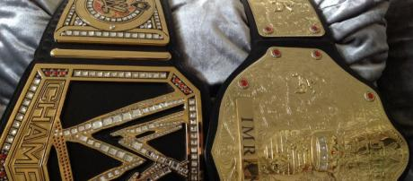 WWE belts -- Md Imran/image via Flickr