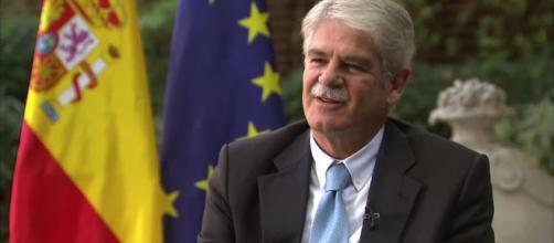 Alfondo Dastis, Ministro degli Esteri spagnolo