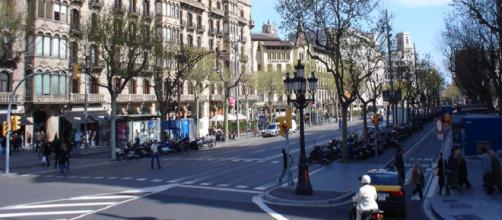 Barcelona amanece con una huelga general masiva