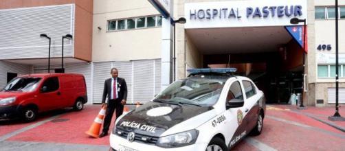 Corpo de bebê desapareceu no Hospital Pasteur, no Méier Foto: Guilherme Pinto / Agência O Globo