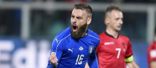 Daniele De Rossi giocherà contro la Svezia la sua 117esima partita con la maglia della Nazionale