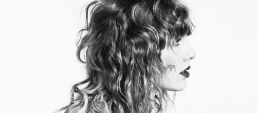 Taylor Swift en la sesión de fotos realizada en Londres para su nuevo álbum.