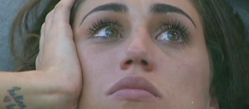 Gfvip: Cecilia Rodriguez piange per Francesco Monte