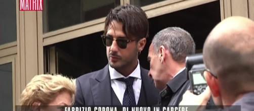 Malore shock per Fabrizio Corona