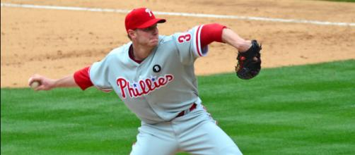 Roy Halladay tragically died in a plane crash at the age of 40; (Image via SD Dirk/Flickr)