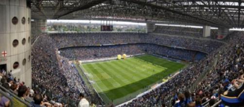 San Siro pieno in occasione di Inter-Torino