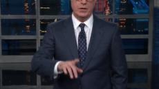 Stephen Colbert blasts Trump for his narcissism during his Asian trip