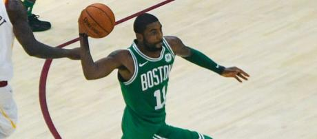 Kyrie Irving's career with the Celtics is off to a great start (via Flickr - Erik Drost)