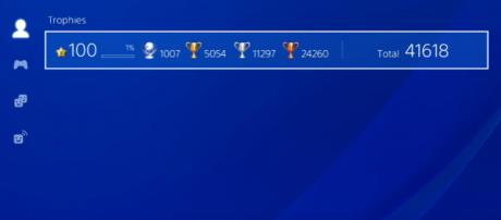 Sony PlayStation app and Trophies (Image Credit: Spllitz/YouTube screencap)
