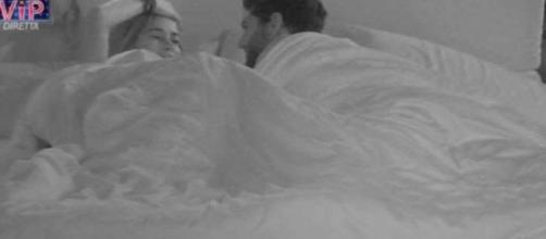 Aida Yespica e Jeremias Rodriguez a letto insieme