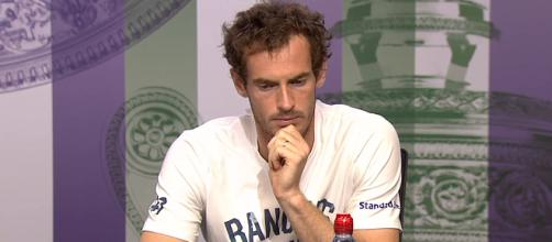 Andy Murray during a press conference at 2017 Wimbledon/ Photo: screenshot via Wimbledon official channel on YouTube