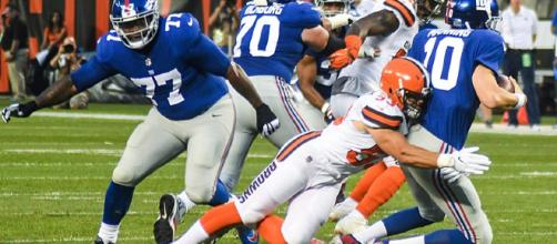 Cleveland Browns vs. New York Giants August, 2017 [image credit: Eric Drost/Wikimedia Commons]