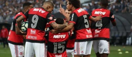 Flamengo não vai contar com quatro jogadores para enfrentar o Palmeiras