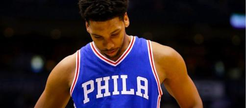 Jahlil Okafor is at the center of trade rumors. [image credit: Clickon/Flickr]