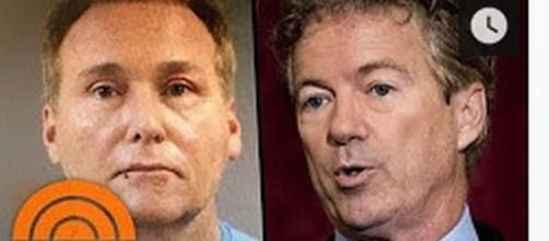 Rene Boucher and Rand Paul [Image Source: Today/YouTube]