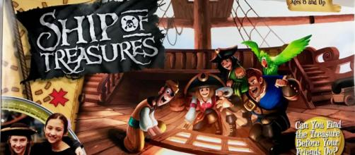 'Ship of Treasures' is a pirate-themed board game. (Image via Pressman Games, used with permission.)