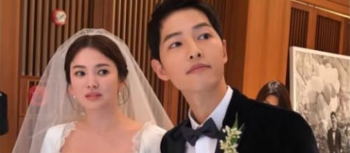 SongSongCouple Wedding / Top Korean News / YouTube Screenshot