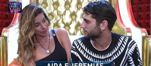 Video Grande Fratello VIP, Aida e Jeremias innamorati?