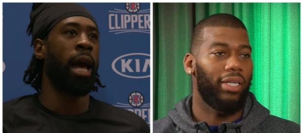 DeAndre Jordan and Greg Monroe are two bigmen that could change teams this season – [image credit Clips-Bucks media/Youtube]