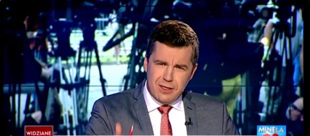 Dziennikarz TVP broni honoru i godności Polaków (screen z Twittera).