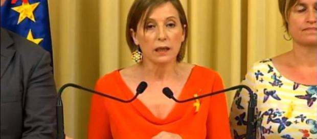 Las implicaciones prácticas del simbolismo que la Presidenta del Parlament no tuvo en cuenta.