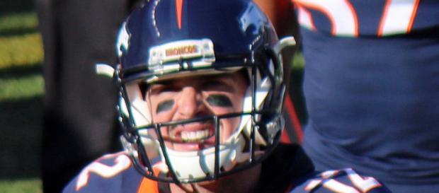 Paxton Lynch, QB of the Denver Broncos. Image by Jeffrey Beall via flickr.com