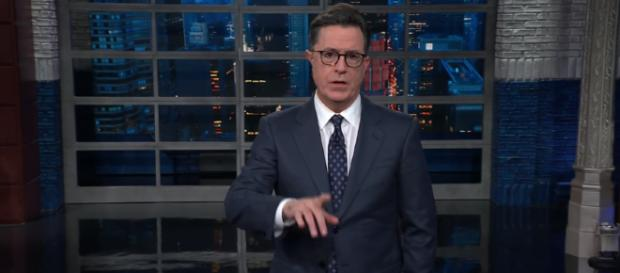 Stephen Colbert points out Trump's narcissism (Image Credit: The Late Show with Stephen Colbert/YouTube Screencap)
