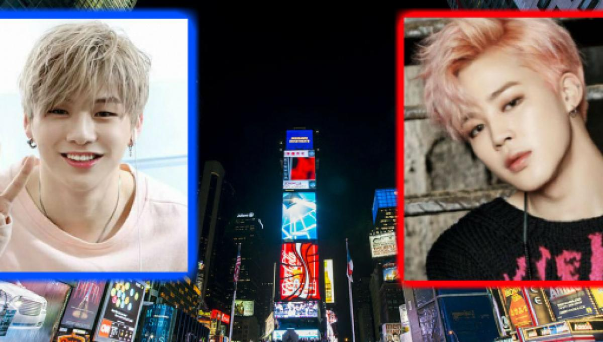 US fans show love for K-pop idols in Times Square in NYC for Christmas