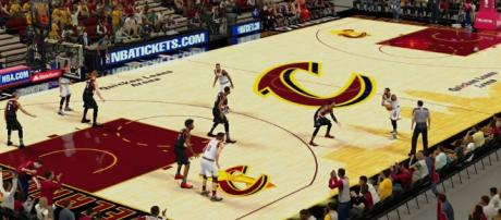 Cavaliers guard out indefinitely with knee injury - YouTube