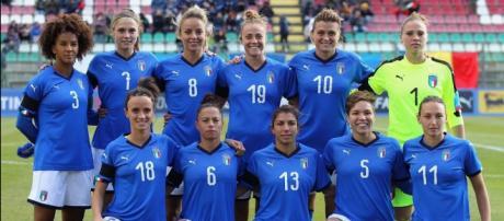 La Nazionale Italiana di calcio femminile