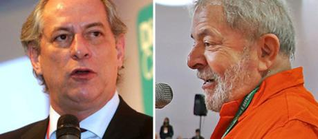 Lula e Ciro Gomes: adversários políticos