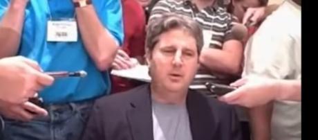 WSU head coach Mike Leach. - [CFBin30 / YouTube screencap]