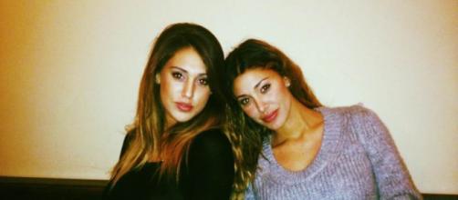 Le due sorelle Belen e Cecilia Rodriguez
