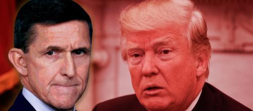Ex Consigliere della Sicurezza Nazionale, Michael Flynn, e Donald Trump