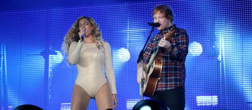 "Sheeran didn't hesitate to show his surprise when Beyoncé agreed to sing this version of ""Perfect"". Image Credit: MEDIAPUNCH/REX/SHUTTERSTOCK"