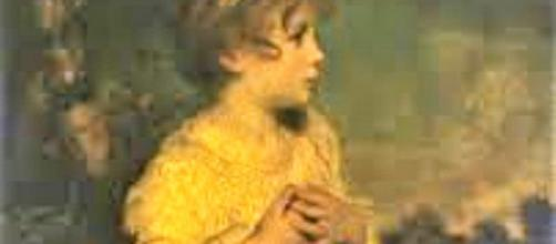 "Sir Joshua Reynolds' portrait of the iconic child, ""The Little Girl."" (en.wikipedia.org)"