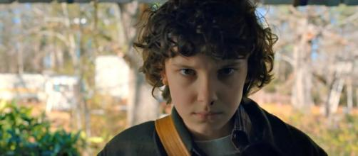 """Stranger Things"" star Millie Bobby Brown is stranded in Bali after the volcano eruption [Image credit: Netflix/YouTube]"