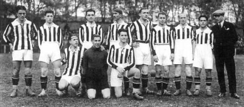 Una formazione della Juventus nel 1926