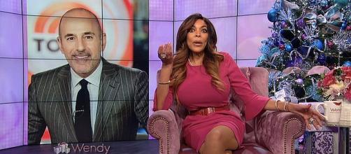 Wendy Williams says she is not sorry about the downfall of Matt Lauer [Image: Wendy Williams/YouTube screenshot]