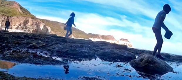 A boy lost his camera on a UK beach and it recorded its journey to Germany [Image credit: Die Seenotretter – DGzRS/YouTube]