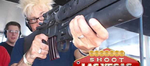 "Celebrity Magician Murray SawChuck at the ""Shoot Las Vegas"" facilities. Image courtesy of shootlasvegas.com"