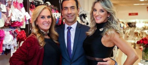Helô Pinheiro diz que 'desta vez ela acertou', referindo-se ao casamento da filha com César Tralli