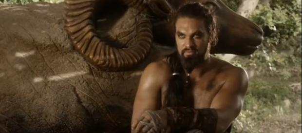 "Jason Momoa says it is unlikely that Khal Drogo returns from the dead in ""Game of Thrones"" season 8. [Image credit:The Best Of/YouTube]"