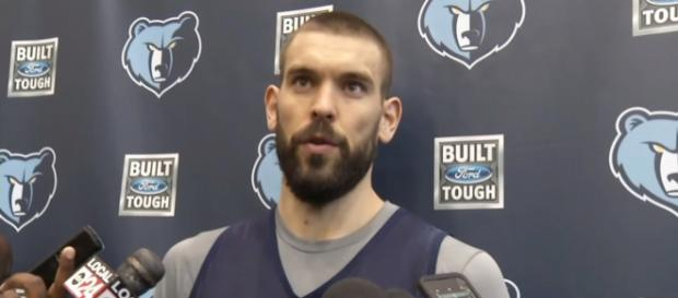 Memphis Grizzlies star center Marc Gasol is a hot topic in NBA trade rumors -- ESPN via YouTube