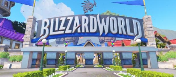 New Overwatch map pays tribute to all of Blizzards games. (Image:Blizzard World Wiki )