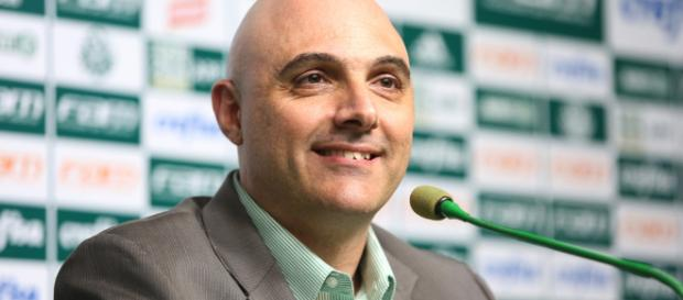 Presidente do Palmeiras, Maurício Galiotte