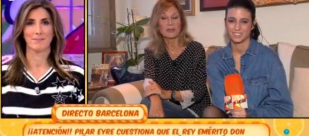 Sálvame: Paz Padilla descalifica a Pilar Eyre y Telecinco arde