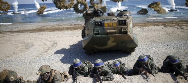 SUA și Coreea de Sud au efectuat exerciții militare comune în octombrie și noiembrie anul curent - Foto: Russia Today (© Kim Hong-Ji / Reuters)