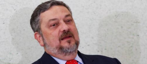 Ex-ministro Antonio Palocci, preso pela Polícia Federal. (Foto Reprodução).